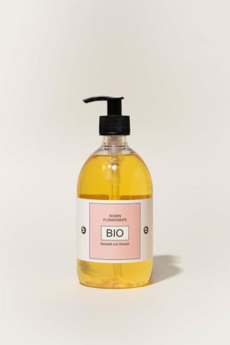 Flüssige Bio-Seife ROSE 500ml
