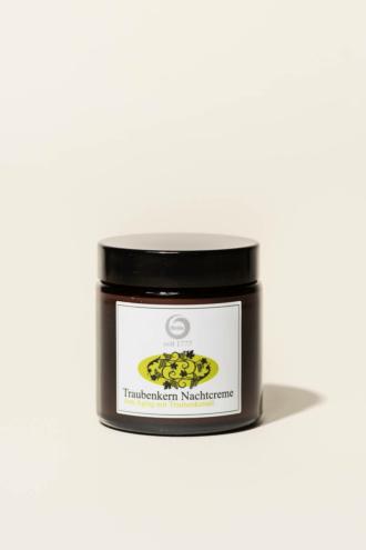 Traubenkernöl-Nachtcreme 100-ml