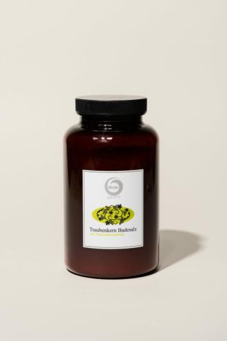 Traubenkernöl-Badesalz 500g
